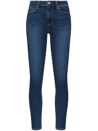 PAIGE Calça Jeans Skinny Muse Cintura Alta - Farfetch