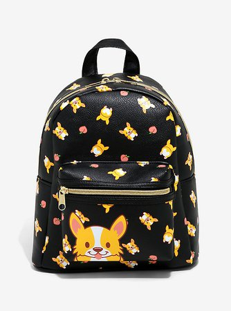 Corgis & Peaches Mini Backpack