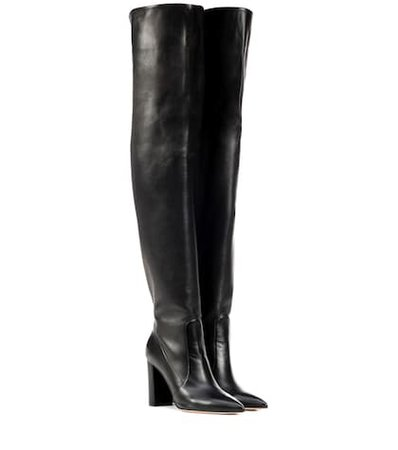 Morgan 85 over-the-knee leather boots
