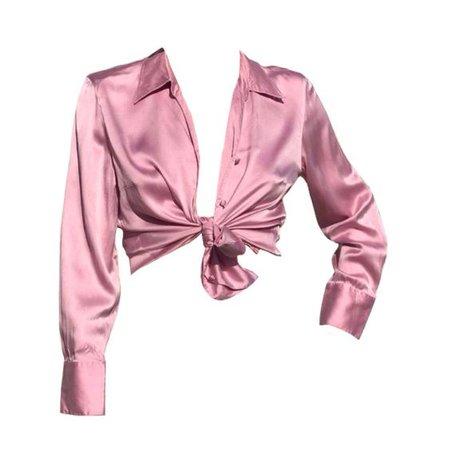 pink shirt top png