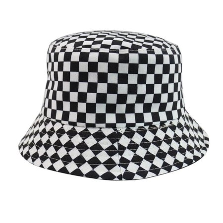 *clipped by @luci-her* CHECKER BUCKET HAT – Teen Hearts Clothing - STAY WEIRD