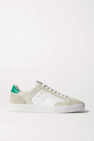 90s Skate Suede And Leather Sneakers - White