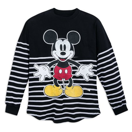 Mickey Mouse Striped Spirit Jersey for Adults