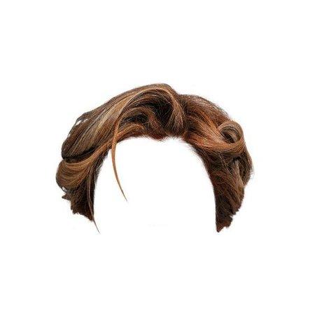 Light Brown Curly hair