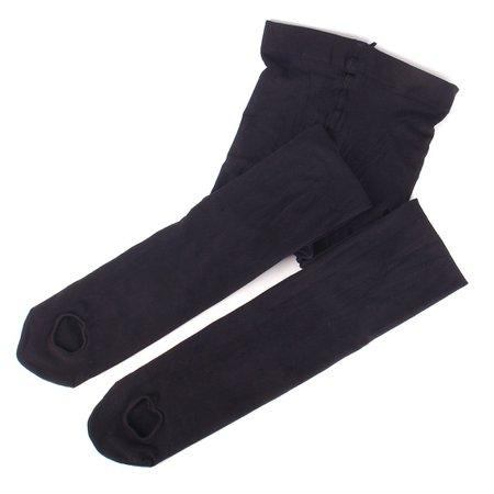 Girls Velvet Dance Sock Pantyhose Professional Ballet Stocking Ballerina Tights | Alexnld.com