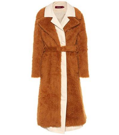 Devin faux shearling coat