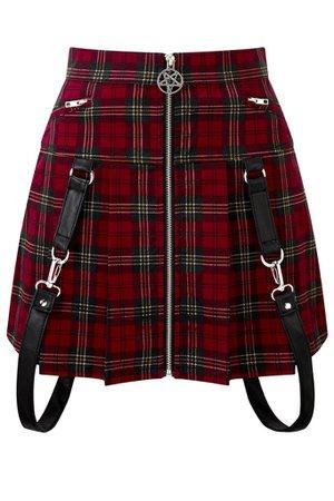 Dead Beatz Mini Skirt [B] | KILLSTAR - US Store