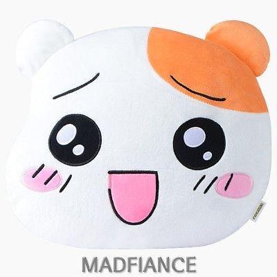 EBICHU Character face cushion HAPPY CHU 38cm plush doll