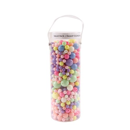 Buy the Pastel Mixed Round Beads By Bead Landing™ at Michaels