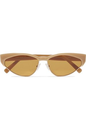 Andy Wolf | Volta cat-eye acetate and gold-tone sunglasses | NET-A-PORTER.COM