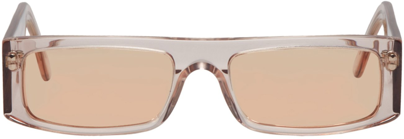Andy Wolf: Brown Hume Sunglasses | SSENSE