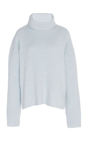 Cashmere-Blend Turtleneck Sweater by Sally LaPointe | Moda Operandi