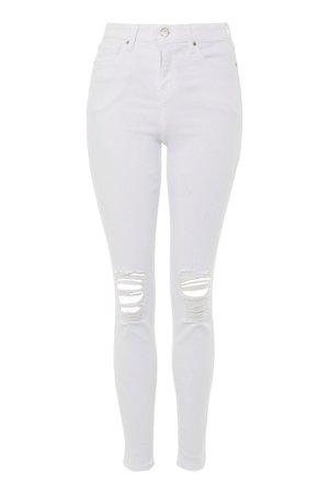 White Joni Jeans - Mom Jeans - Jeans - Topshop