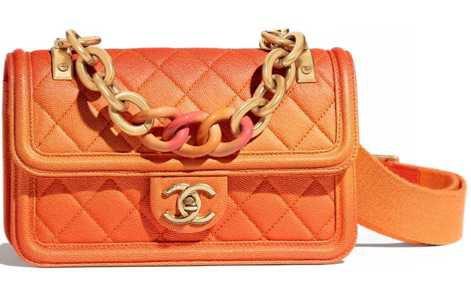 2020 Chanel Bag orange