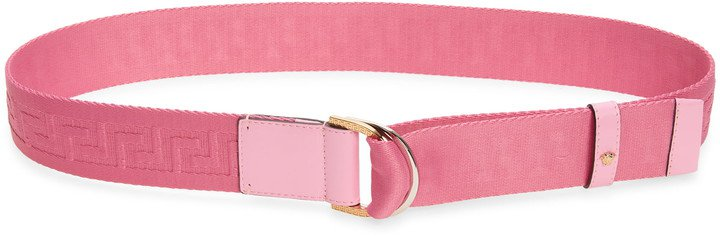 Versace Greca Web Belt