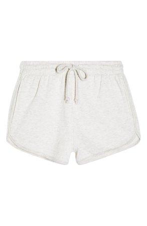 Topshop '90s Sweat Shorts (Petite) | Nordstrom