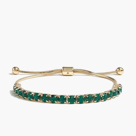 J.Crew Factory: Crystal Slider Bracelet For Women