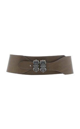 Wide Leather Belt by Etro | Moda Operandi