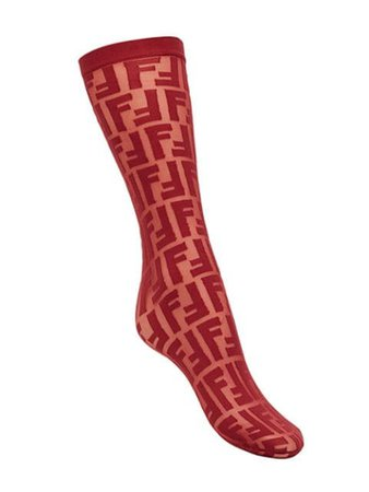 Fendi FF logo embroidered socks $220 - Buy Online - Mobile Friendly, Fast Delivery, Price