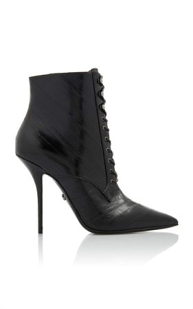 Dolce & Gabbana Eel Ankle Boots