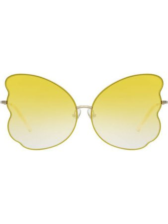 Linda Farrow Butterfly Sunglasses - Farfetch