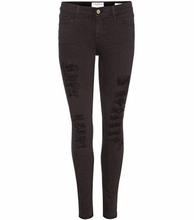 Le Color Ripped skinny jeans