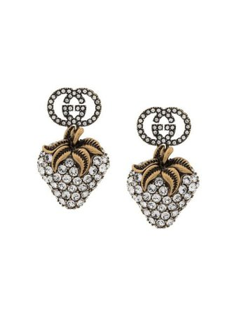 Gucci strawberry drop earrings $650 - Buy Online - Mobile Friendly, Fast Delivery, Price