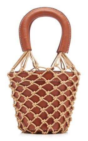 Moreau Mini Leather Bucket Bag by Staud | Moda Operandi