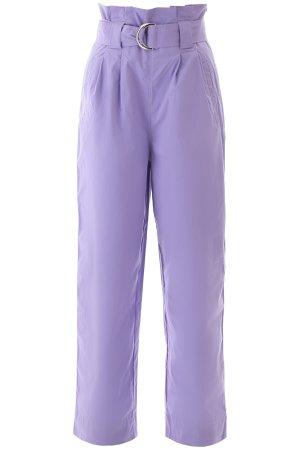 Ganni Cotton Paperbag Pants