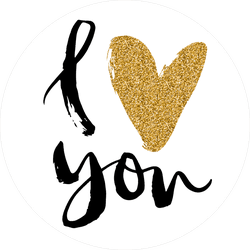 Fall In Love Text With Leaves Sticker