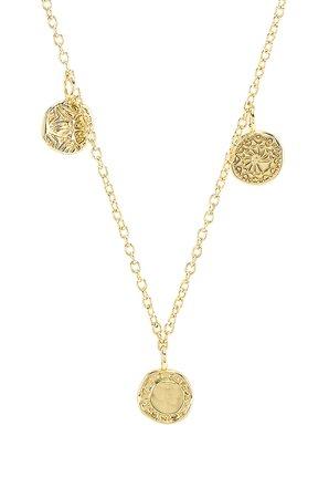 Cruz Mixed Coin Necklace