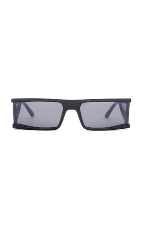Tempest Acetate Square-Frame Sunglasses by Carolina Lemke x Kim Kardashian West | Moda Operandi