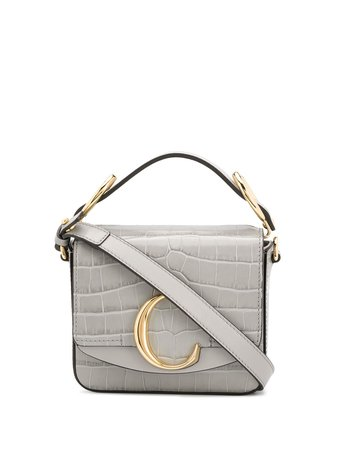 Chloé Mini C Top Handle Bag - Farfetch