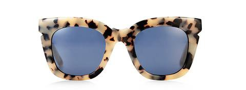 Pools & Palms Sunglasses - Cookies and Cream/ Milky White