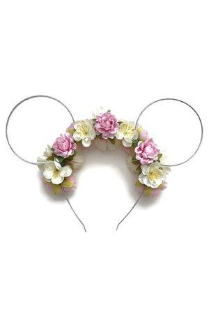 rapunzel flower mickey ears - Google Search