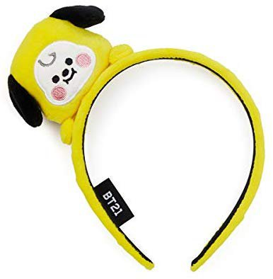 Amazon.com: BT21 Official Merchandise by Line Friends - CHIMMY Baby Character Fashion Headband: Beauty