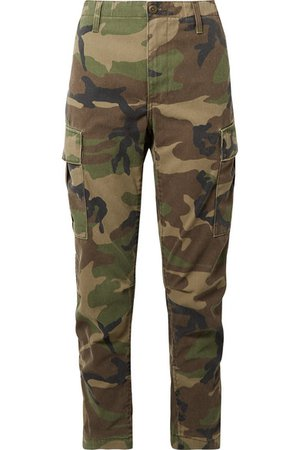 RED/DONE CAMOUFLAGE PANTS