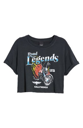 Day Road Legends Crop Graphic Tee | Nordstrom