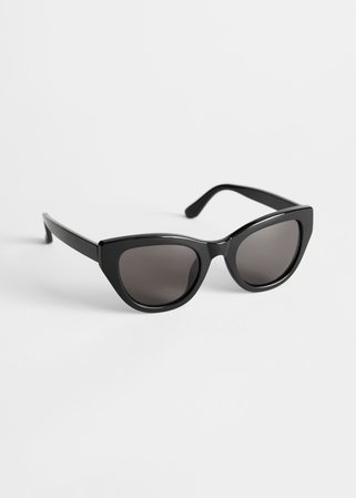 Cat Eye Sunglasses - Black - Sunglasses - & Other Stories