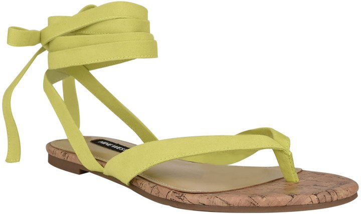 Tied Up Ankle Tie Sandal
