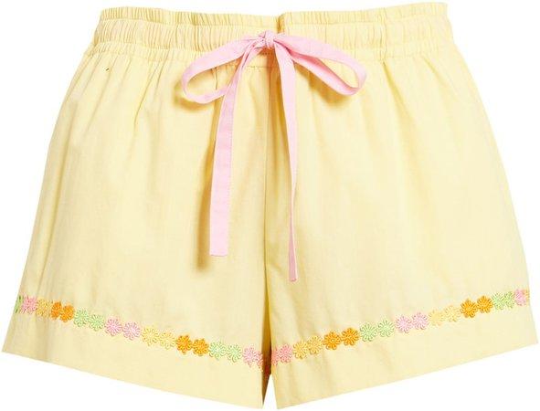 Daisy Chain Sleep Shorts