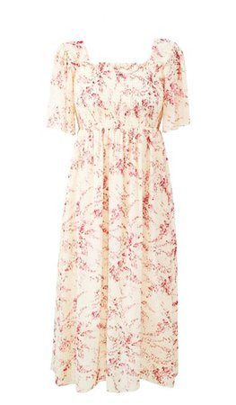 (334) Pinterest cream pastel dress