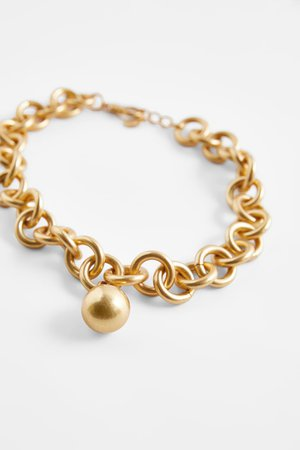 BALL LINK NECKLACE | ZARA United States