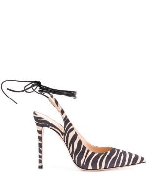 Gianvitto Rossi zebra pumps