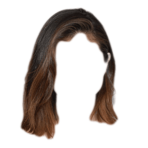 Short Brown Hair PNG