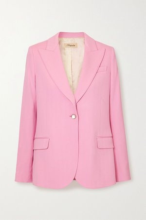Pink Marlene wool blazer | Temperley London | NET-A-PORTER