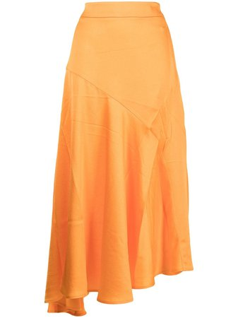 Shop Anna Quan Azura asymmetrical skirt with Express Delivery - FARFETCH