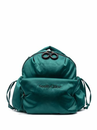 See by Chloé Tilly satin backpack - FARFETCH