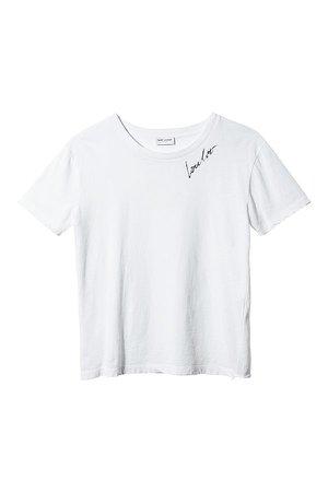 Tシャツ - サンローラン(SAINT LAURENT) | アイテムサーチ |VOGUE JAPAN