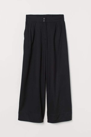 Ankle-length Pants - Black